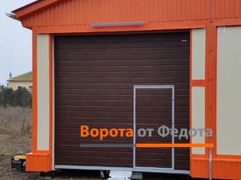 Секционные ворота с автоматикой. ФАП, Кольчугино